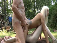 Mature Fucking In The Woods, These Two Nesatule