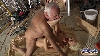 Blonde Girl Fucked By An Old Man With A Big Pension