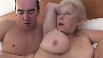 Fat Granny Fucks Well On The Back With Her Son With Sex Chef