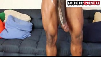 He Anoints Her Big Cock With Oil And Has No Place In Her Pussy