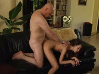 A Young Woman Makes Sex With A Mature Horny